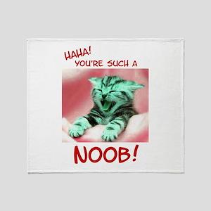 Noob Throw Blanket