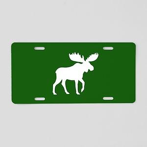 Moose Aluminum License Plate