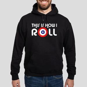This Is How I Roll Curling Hoodie (dark)