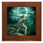 MoonDancer Framed Tile