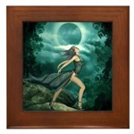 MoonDancer Framed Tile