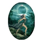 MoonDancer Oval Ornament