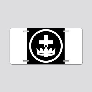 York Rite Commandery Aluminum License Plate