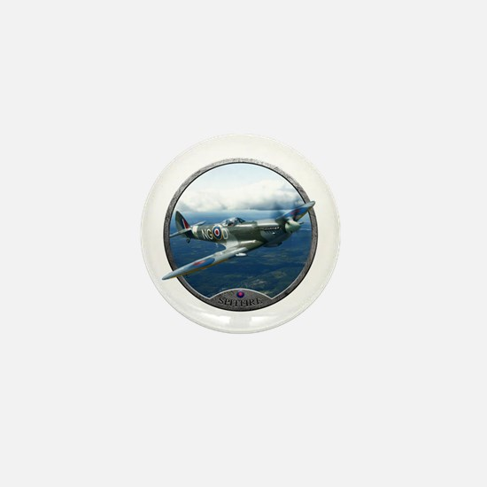 Cute Spitfire Mini Button