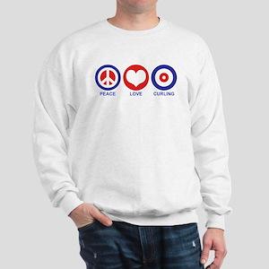 Peace Love Curling Sweatshirt