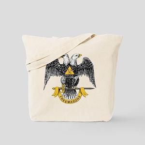 Scottish Rite Double Eagle Tote Bag