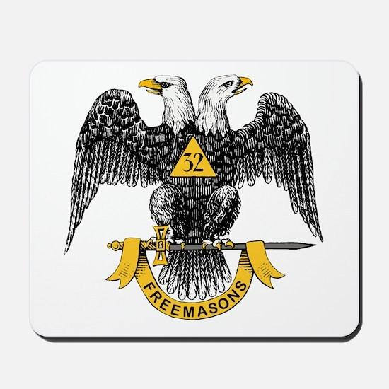 Scottish Rite Double Eagle Mousepad