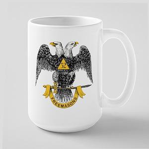 Scottish Rite Double Eagle Large Mug