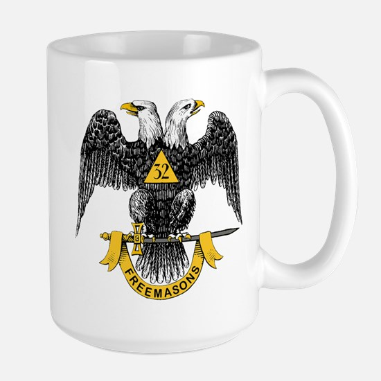 Scottish Rite Double Eagle Large Mug