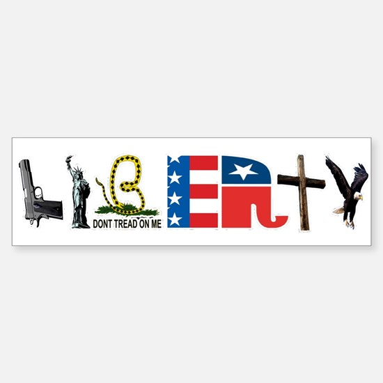 Liberty Sticker (Bumper)