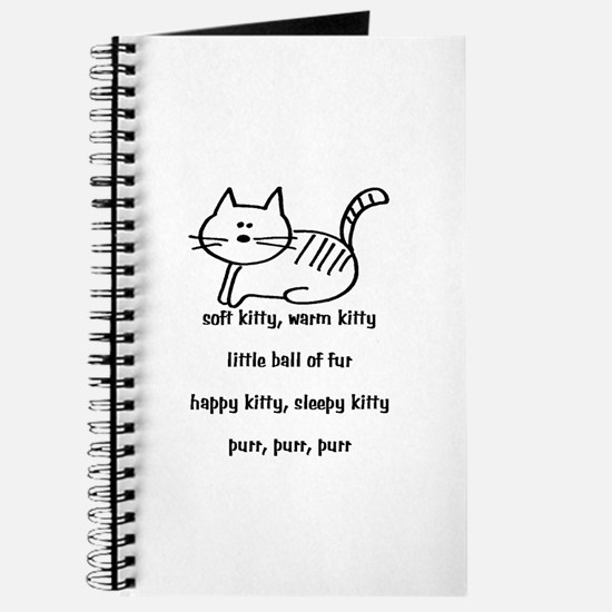 Soft Kitty in Binary Journal