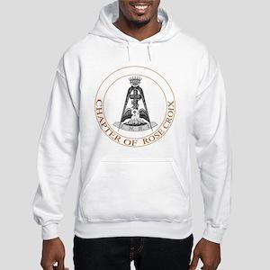 Rose Croix Hooded Sweatshirt