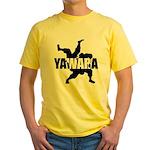 Yawara Yellow T-Shirt