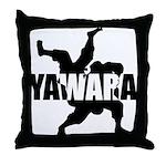 Yawara Throw Pillow