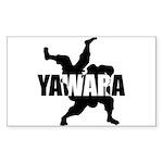 Yawara Sticker (Rectangle 10 pk)