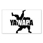 Yawara Sticker (Rectangle 50 pk)