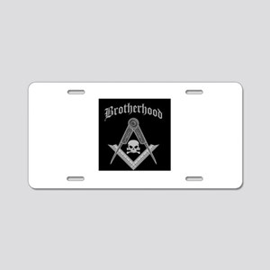 Brotherhood Aluminum License Plate