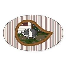 Basil Sticker (Oval)