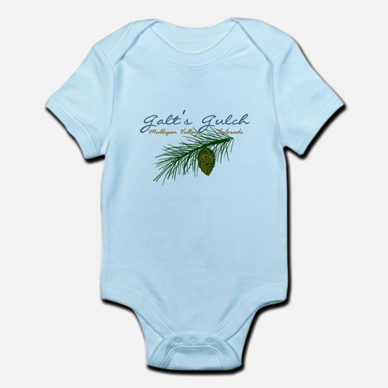 Galt's Gulch Elegant Infant Bodysuit