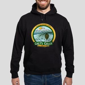 Galt's Gulch Green/Gold Hoodie (dark)