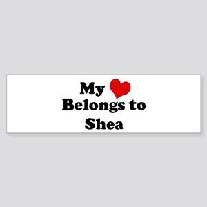 My Heart: Shea Bumper Sticker