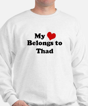 My Heart: Thad Sweatshirt