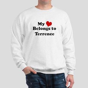 My Heart: Terrence Sweatshirt