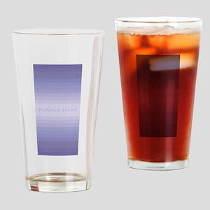 Purple Haze Drinking Glass