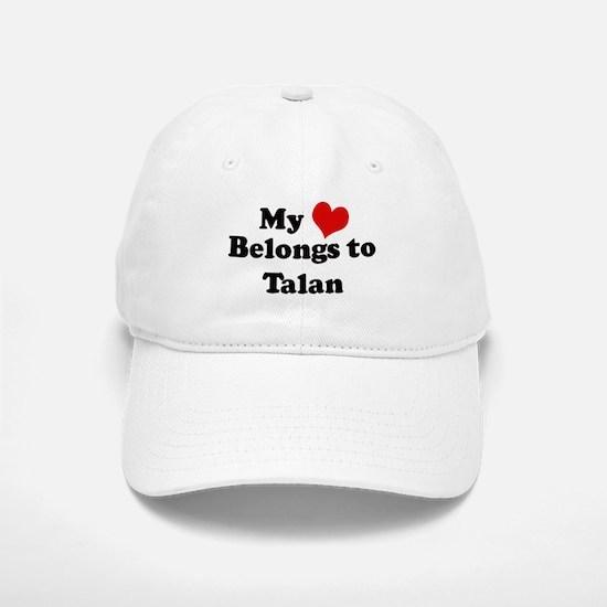 My Heart: Talan Baseball Baseball Cap