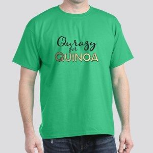 Qurazy for Quinoa Dark T-Shirt