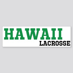 Hawaii Lacrosse Sticker (Bumper)