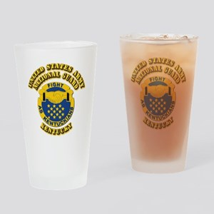 Army National Guard - Kentucky Drinking Glass
