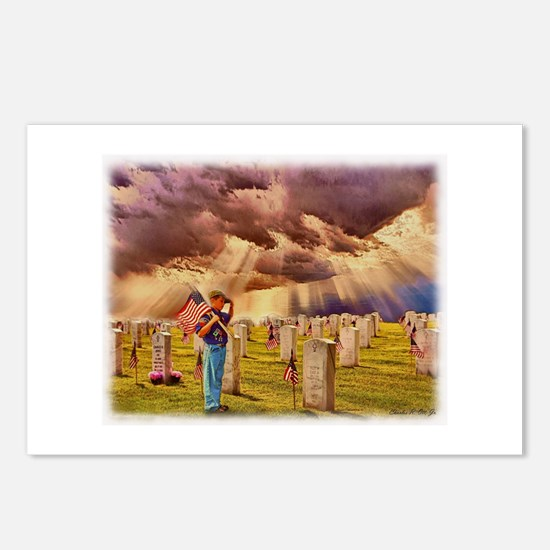 Cute Boy scouts america Postcards (Package of 8)