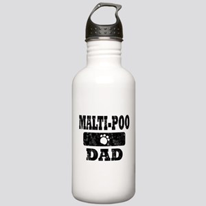 Malti-Poo Dad Stainless Water Bottle 1.0L