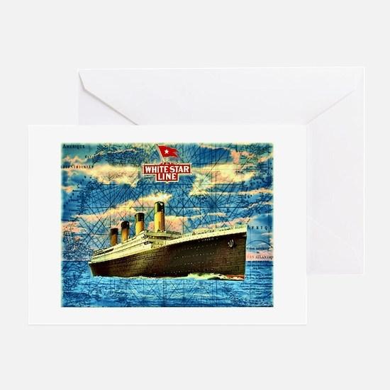 Unique Titanic Greeting Card