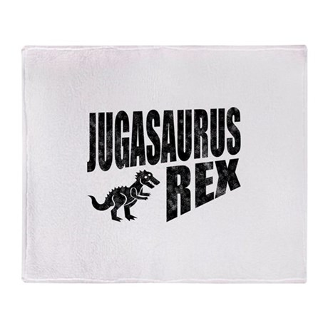 Jugasaurus Rex Throw Blanket