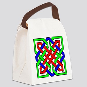 Celtic Knot Canvas Lunch Bag