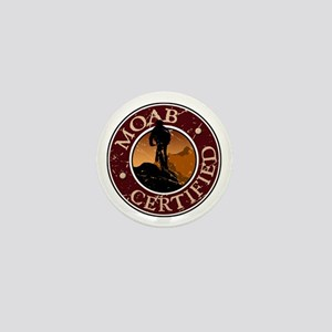 Moab Certified - Mountain Biker Mini Button
