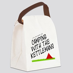 'Camping with the Kettlemans' Canvas Lunch Bag