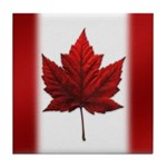 Canada Coasters Red Maple Leaf Coasters