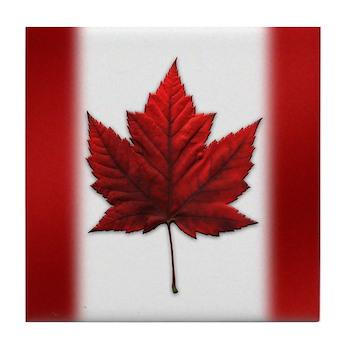 Canada Coasters Red Maple Leaf Coasters