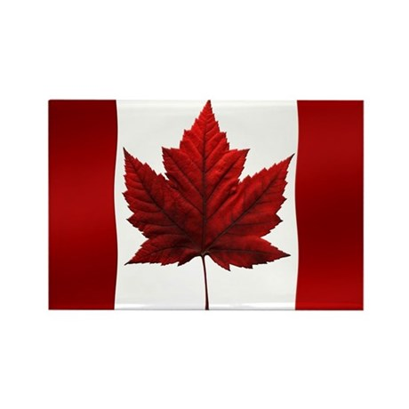 Canada Flag Fridge Magnet 10 pack Souvenirs
