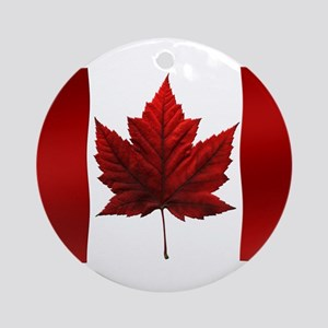 Canada Ornament Red Maple Leaf Souvenir