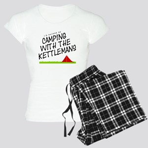 'Camping with the Kettleman Women's Light Pajamas