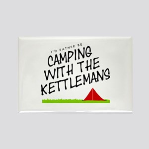 'Camping with the Kettlemans' Rectangle Magnet