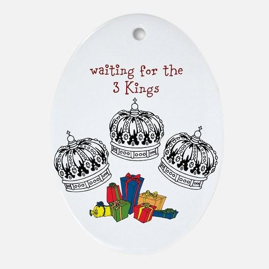 3 kings Ornament (Oval)