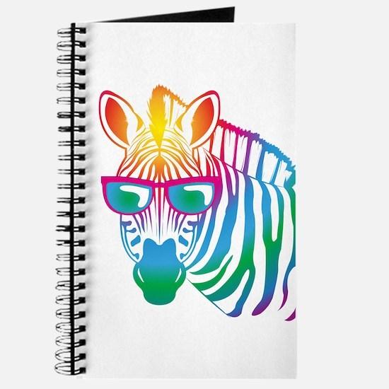 cool Zebra Journal