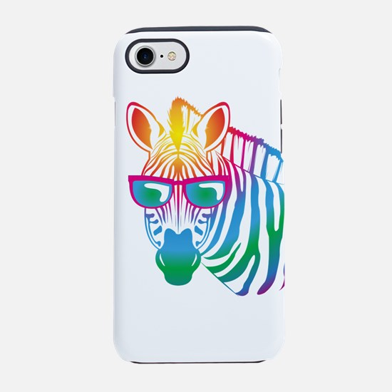 cool Zebra iPhone 7 Tough Case