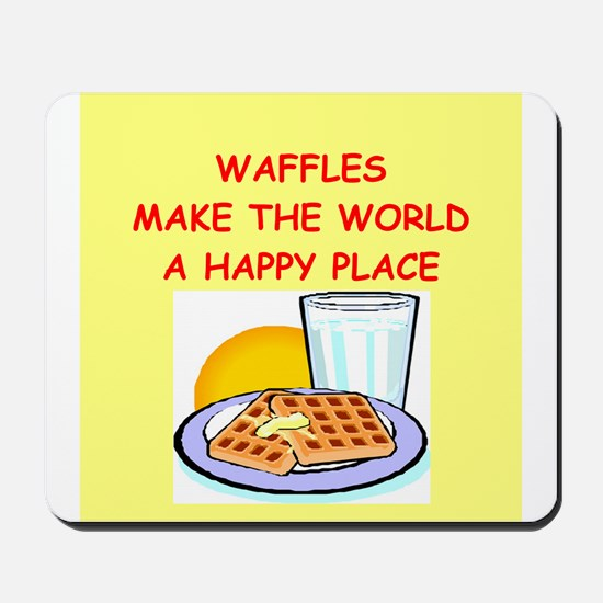 waffles Mousepad