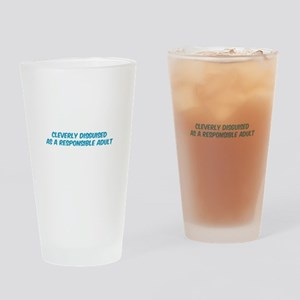 Responsible Parent Drinking Glass